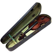 Old Antique 4/4 Full Size Violin in Original Wooden Case