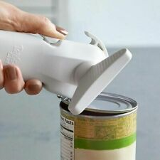 Pampered Chef Smooth Edge Can Opener #2758 White Manual Retired Left/Right Hand