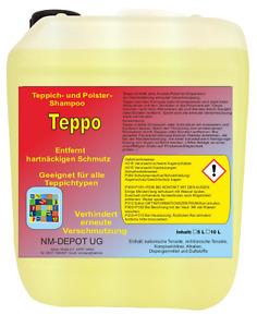 5 L Teppichreiniger Polsterreiniger Shampoo Waschsauger Textilreiniger Waschsaug