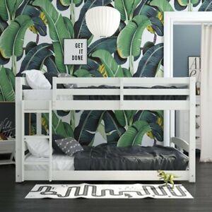 Bellmead Standard Bunk Bed - FULL OVER FULL (3 Colors)