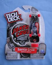 2018 Tech Deck   SANTA CRUZ Corey O'Brien  20th  Anniversary Sticker and Stand