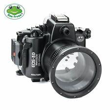 Seafrogs 40m/130ft Unterwasser Kamera Tauchen Gehäuse für Canon EOS 5D Mark Ⅲ Ⅳ