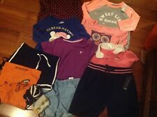 H&M/Gymboree/Old navy/u.s polo 15pcs girl fall/winter clothes lot size:6/6x-7