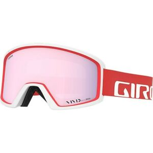 Giro Blok Snow Sports Adult Ski Goggles w/ Vivid Apex Lens~Apex Red/White~NEW