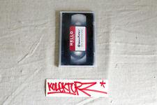 INVADER ZEVS HELLO MY NAME IS @NONYMOUS DVD 1999 BOOK FILM PARIS LTD RARE SPACE