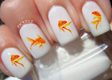 Goldfish Nail Art Stickers Transfers Decals Set of 47