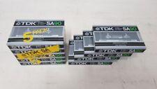 TDK SA 90 Audiokassette Cassette NEU AUDIO CASSETTE TAPE  NEW RARE
