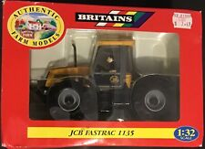 Vintage Ertl Britains Farm Tractor JCB Fastrac 1135 #9440 1:32 NEW