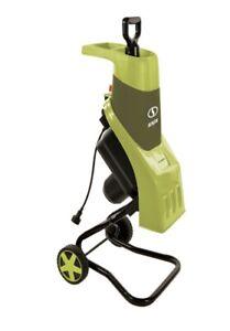 Sun Joe CJ602E-RED 15 Amp Electric Wood Chipper/Shredder -Green