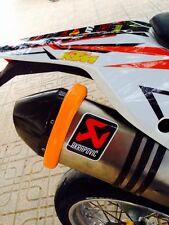 KTM LC4 Auspuff Schutzring,Motorrad Auspuffschutz,Schalldämpfer Schutz,KTM Duke