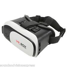 Caja VR Realidad Virtual Gafas Para Usar Con Juegos + videos + Teléfono Inteligente 3D con