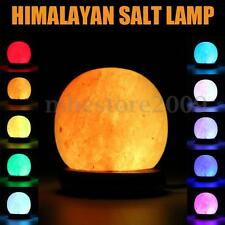 Color Changing Natural Himalayan Air Purifier Crystal Salt Lamp Night Light USB