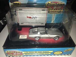 Road Champs 1978 Corvette Classic 25 Year Anniversary 1/43 Scale Diecast NEW