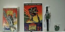 Vintage Clamshell The Iron Giant Vhs-Comic-Watch-Keychain New unused Lot Awesome