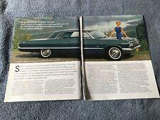 "1963 Chevy Impala SS History Info Article ""Superlative Super Sport"" 409"