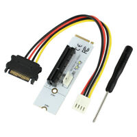 NGFF M2 to PCI-e 4X 1X Slot Riser Card M Key M.2 2260 2280 SSD Port to PCIE