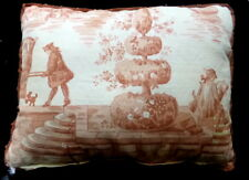 Gorgeous French Toile Pillow & Passementarie Tassels Lee Jofa Pierre Duex