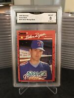 "1990 Donruss Nolan Ryan #665 ""Error Wrong Back"" GMA 8 NM-MT"