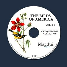 The birds of America 1840 by John James Audubon - 7 PDF E-Books on 1 Data DVD