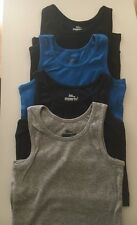 Boys vest top t-shirt sleeveless summer casual wear