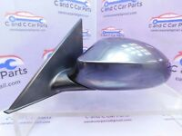BMW 1 Series E87 LCI Passenger Left Side Wing Mirror 5 Pin in Space Grey 26/4