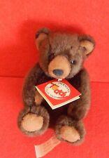 Kleiner Braunbär 12cm Teddy Hermann NEU Mit Etikett
