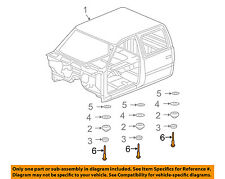 GM OEM Cab Assembly-Mount Cushion Bolt (Sold each) 11516868