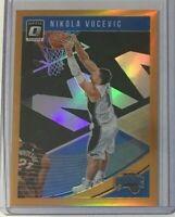 Nikola Vucevic *Orange* 2018-19 Donruss Optic #198/199 - Orlando Magic