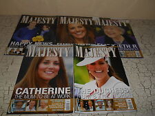 5 MAJESTY Magazines Royalty Year 2013 Jan-April & August Volume 34