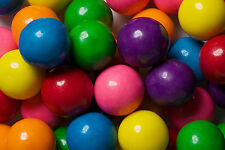 Double Bubble One Inch Gumballs Assorted Flavors 5 Pound Box GUM BALLS 1 inch