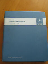 Workshop Manual Mercedes Benz Special Equipment - Tape 1- R 107 - 108-109