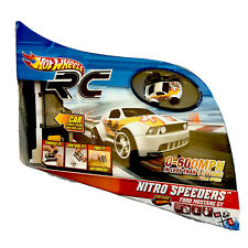 Hot Wheels RC Nitro Speeders Ford Mustang GT w/ Remote & Charger - New in Box