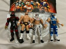 Lucha Libre Set Luchadores mexicanos Action Figures Mexican Toys 3 inches # 1