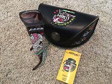 Ed Hardy Sunglasses Love Dog Bull Dog Cocoa EHS 006