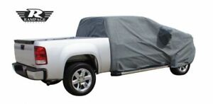 Rampage Universal Easyfit 4-Layer Polypropylene Extended Cab Truck Cover