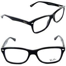 Unisex Gafas Ray-BAN RX 5228 2000 53mm Negro/lentes de demostración [53-17-140]