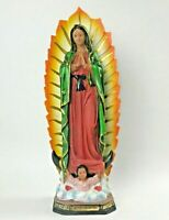 "16"" OUR LADY OF GUADALUPE FIGURINE STATUE VIRGEN MARIA DE GUADALUPE CATHOLIC"