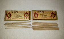Vintage 1940's Dill's Pipe Cleaners Tobacco Co Original Package