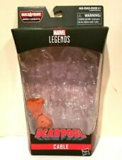 HASBRO MARVEL LEGENDS SASQUATCH B.A.F SERIES CABLE(NATHAN SUMMERS) BOX & B.A.F