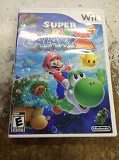 Super Mario Galaxy 2  ( Nintendo Wii ,2010 ) Complete w/Case and Manual