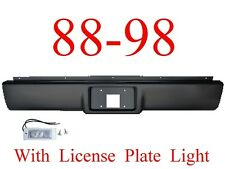 RP03 88 98 Chevy Roll Pan, Rear W/License Plate Light, GMC Truck Suburban Tahoe