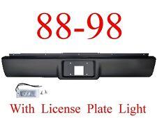 RP03 88 98 Chevy Roll Pan, Rear W/License Plate Light, GMC Truck Suburban Tahoe