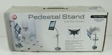 Pedestal Stand w/ Roll Holder for Ipad