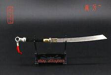 Dynasty Warri China broadsword heavy sword for Blood Zombies metal 19cm  katana