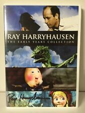 Ray Harryhausen: Early Years Collection DVD     AUTOGRAPHED by Ray!     Like New