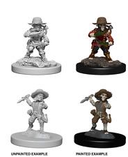 figurine HD mini deep cuts wizkids JDR D&D pathfinder male halfling rogue