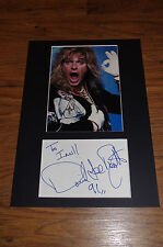 DAVID LEE ROTH signed autograph 8x12 inch matted InPerson ´91 in Berlin RARE