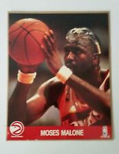 "Moses Malone - 8"" x 10"" - Atlanta Hawks - Picture Poster NBA Hoops"