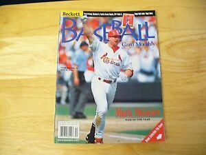 Beckett Baseball Card Monthly Magazine - December 1998 (Mark McGwire) - VINTAGE