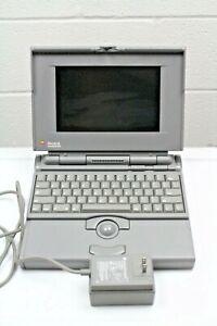 Apple Macintosh PowerBook 165C Vintage OEM Power Supply and Spare Battery